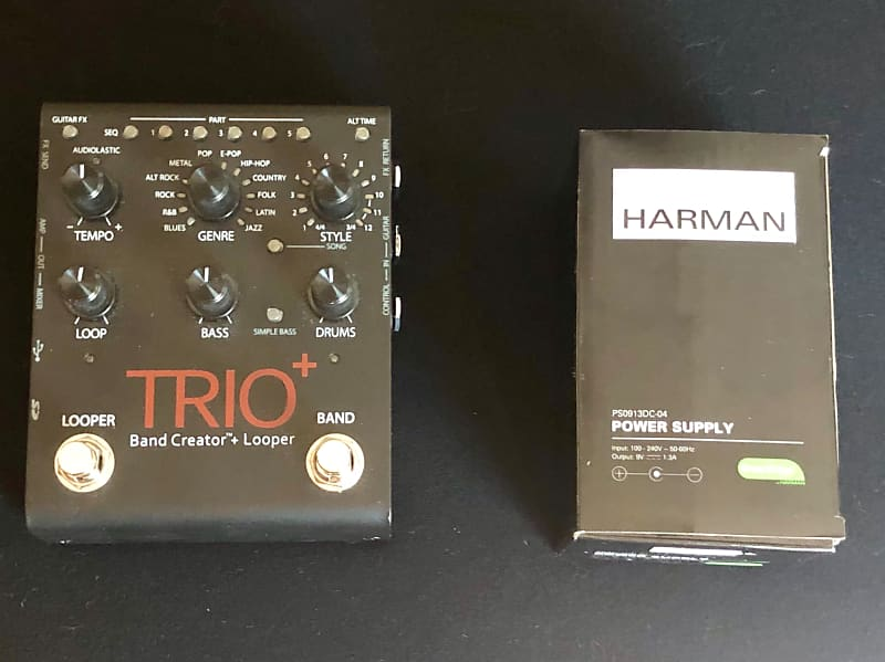 digitech trio plus band creator looper sonictool shop reverb. Black Bedroom Furniture Sets. Home Design Ideas