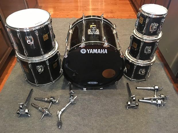 1994 yamaha rock tour custom drum set 6 piece reverb. Black Bedroom Furniture Sets. Home Design Ideas