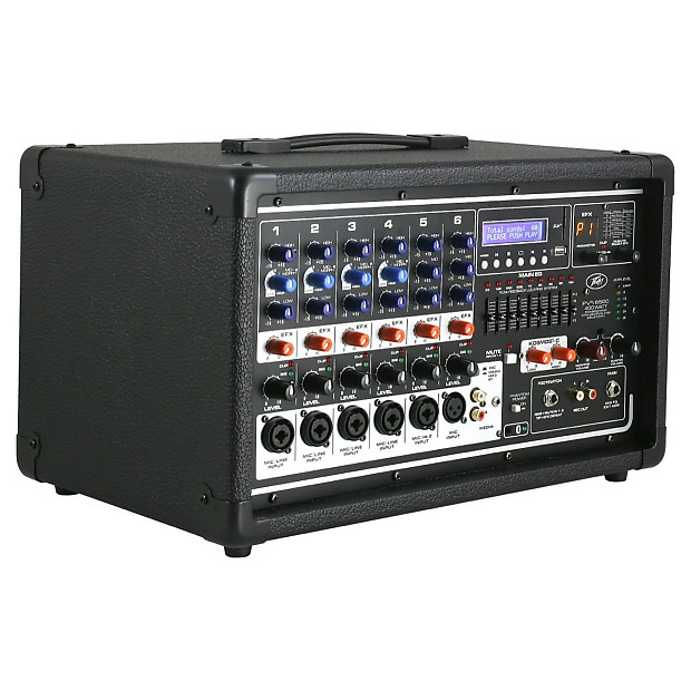 peavey pvi 6500 powered mixer 400 watt with effects reverb. Black Bedroom Furniture Sets. Home Design Ideas