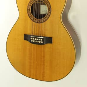 Laskin 12 String Acoustic  1989 natural for sale