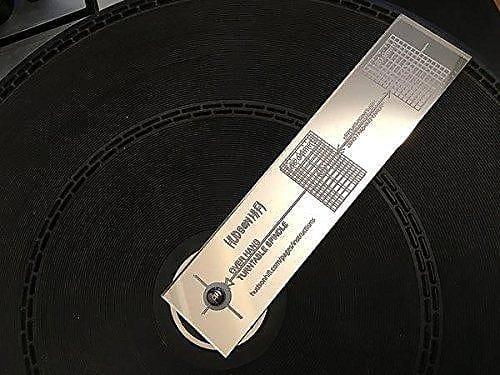 NEW Hudson Hi-Fi Turntable Cartridge Alignment Protractor Mat