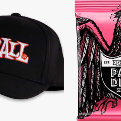 Ernie Ball ERNIE BALL 1962 LOGO HAT L/XL/Paradigm 9-42 12 pack for sale