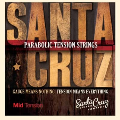 Santa Cruz Parabolic Tension Strings Mid Tension