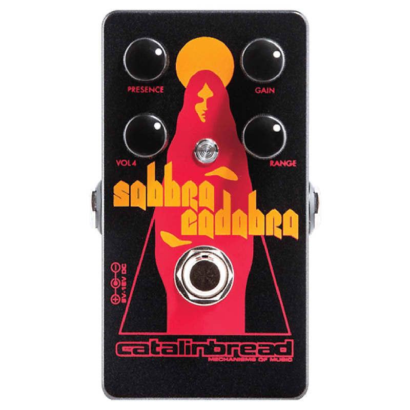 Catalinbread Sabbra Cadabra Overdrive / Distortion Effects Pedal