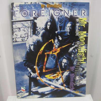 Foreigner Mr. Moonlight Sheet Music Song Book Songbook Guitar Tab Tablature