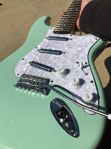 Squier Modified Fender Stratocaster Surf Green Lipstick