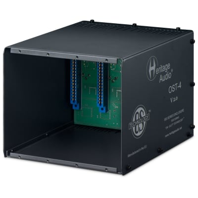 Heritage Audio OST-4 V2.0 500 Series Rack with OS Tech