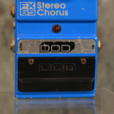 DOD FX65 Stereo Chorus Pedal Vintage 90s w FAST Same Day Shipping for sale