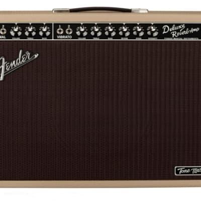 New Fender® Tone Master Deluxe Reverb Blonde 100 Watt Combo Amplifier