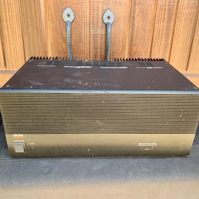 Adcom GFA-555 Black Power Amplifier 2 Channel RARE