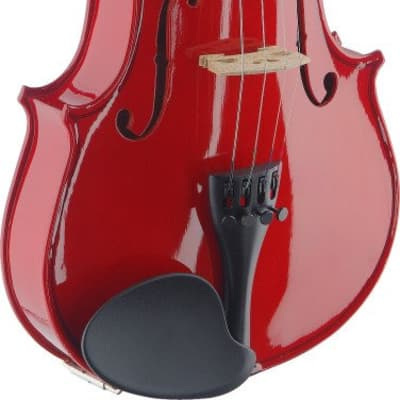 Stagg Classic 4/4 Violin with Soft Case - Red - VN4/4-TR