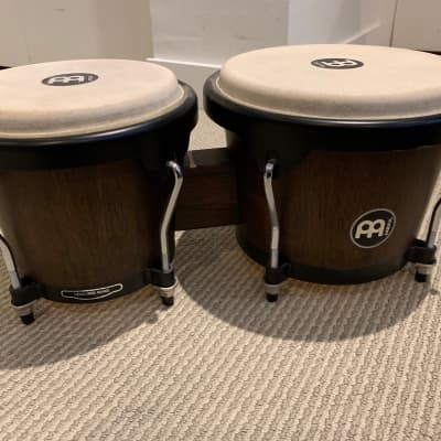 "Meinl Percussion HB100VWB-M Headliner Series Wood Bongos (6 3/4"" Macho & 8"" Hembra)"
