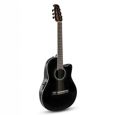Ovation Celebrity Traditional CS24C-5-G Classic Guitar acoustic electric cutaway black