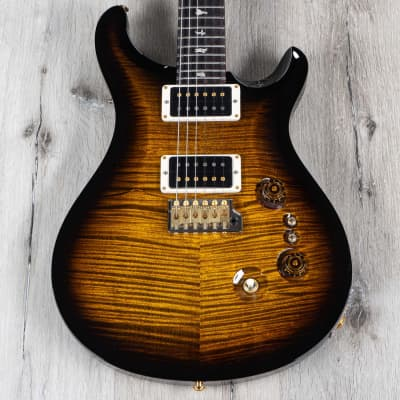 PRS Paul Reed Smith 35th Custom 24 10-Top Guitar, Black Gold Smokewrap Burst