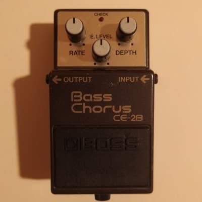 Boss CE-2B Bass Chorus 1989