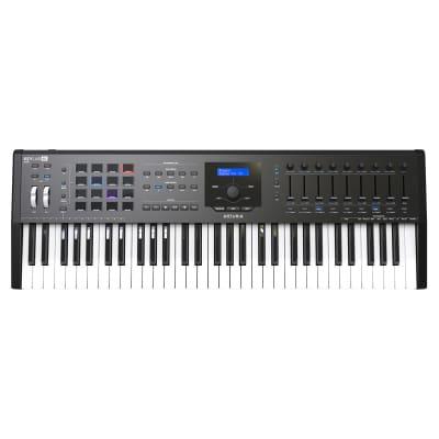 Arturia Keylab 61 MkII 61 Key Controller Keyboard, Black