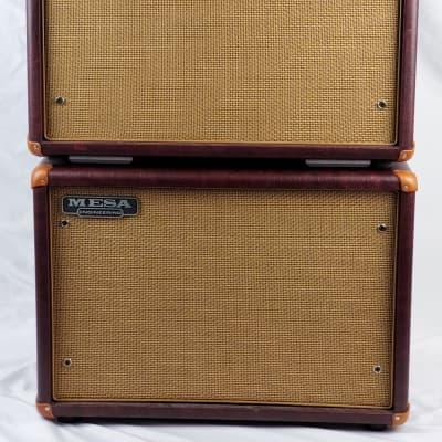 "Mesa Boogie Mark V 90-Watt 1x12"" Guitar Combo  2010s wine red with matching 1x12 cab"