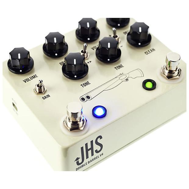 Jhs Double Barrel : jhs double barrel 2 in 1 overdrive pedal v4 reverb ~ Hamham.info Haus und Dekorationen