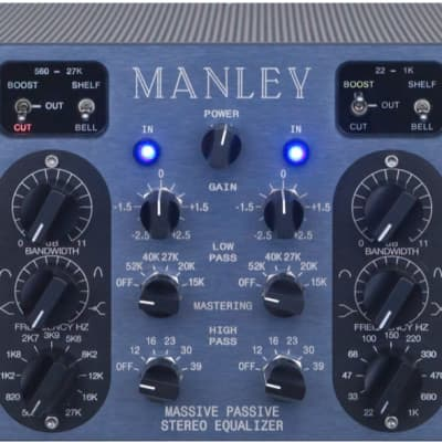 Manley Labs Massive Passive Mastering Version Stereo Tube Equalizer