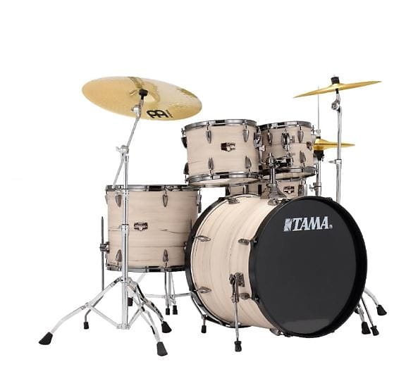 Tama IP52NBCWBW Imperialstar Limited Edition with White Birch Wrap & Black Nickel Hardware