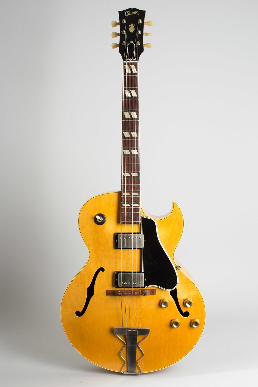 Gibson  ES-175DN Arch Top Hollow Body Electric Guitar (1962), ser. #89335, original black tolex hard shell case.