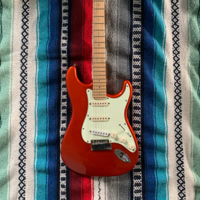 Fender  American Stratocaster Deluxe 2006 Candy Tangerine for sale