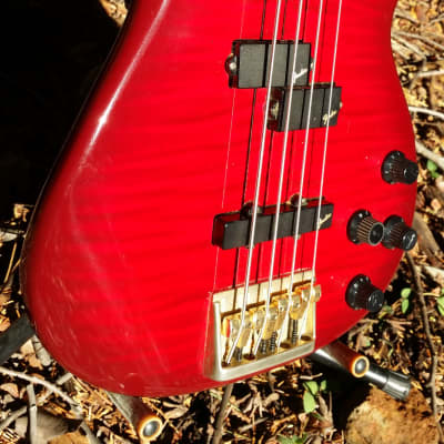 Fender Contemporary Precision Bass Lyte Standard MIJ 1995 - 2001 red for sale
