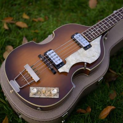 Beatles Bass 500/1 Violin Bass 1965/66 Sunburst 1966 sunburst