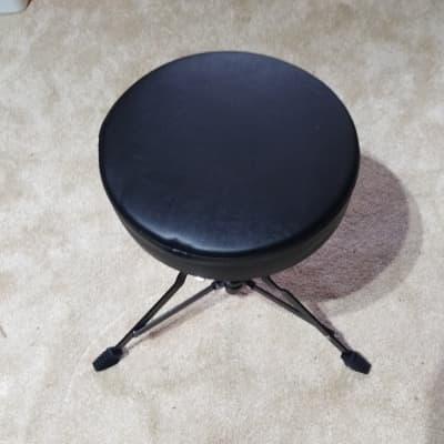 Ludwig Backbeat Drummer's Throne 2010's Black/Black