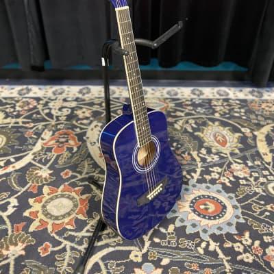 Tanara 1/2-Scale Acoustic Guitar - Dark Blue for sale