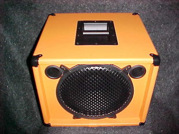 orange 1x12 bass guitar amp speaker extension cab cabinet 500 reverb. Black Bedroom Furniture Sets. Home Design Ideas