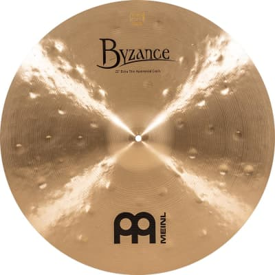 "Meinl 22"" Byzance Traditional Extra Thin Hammered Crash Cymbal"