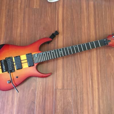 Strictly 7 Cobra Special 7-string Cherry Sunburst - Artist-owned for sale