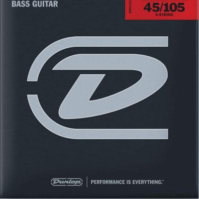 Dunlop Jim Dunlop Bass Nickel Wound Extra Long, 45/105 XL/4, Set (M6)