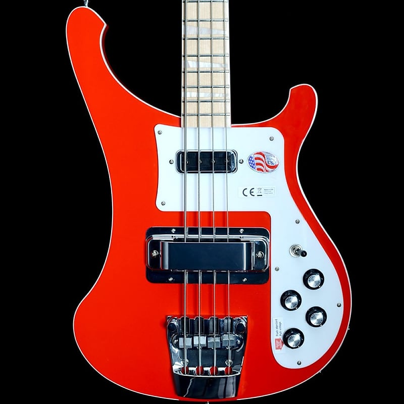 Rickenbacker 4003 Ltd Ed Electric Bass Guitar Pillar Box Red #1913785