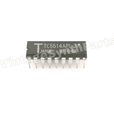 TC5514APL-3 MEMORY CHIPS for KORG POLYSIX TRIDENT ROLAND TR JUNO SRAM CMOS RAM TC5514