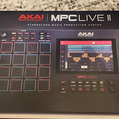 Akai MPC Live II Standalone Sampler/Sequencer