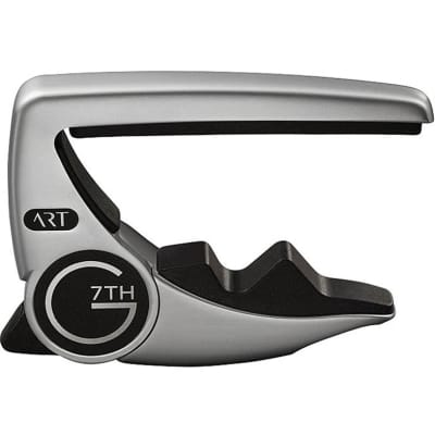 G7th Performance 3 Capo for 6-String Guitar (Silver)