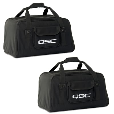 QSC K10 Tote Speaker Cover/Bag (PAIR) K10.2 Free Shipping in Cont USA