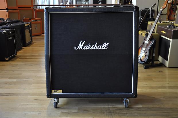 marshall 1960a 4x12 cab black reverb. Black Bedroom Furniture Sets. Home Design Ideas