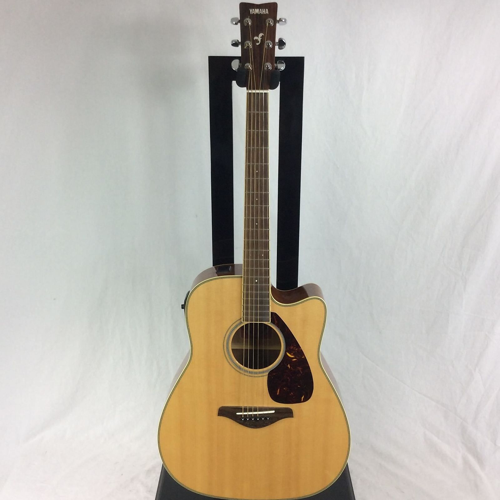 Yamaha fgx720sca folk acoustic electric guitar natural for Yamaha fgx720sca price