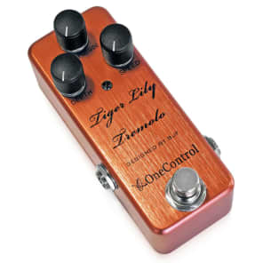 One Control Tiger Lily Tremolo Designed By BJF for sale