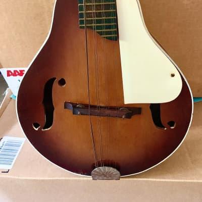 Silvertone Vintage Mandolin 1950's Tobacco Burst