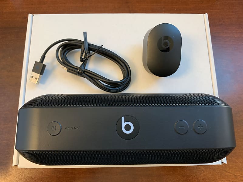 Beats by Dre Pill+ Bluetooth Speaker model ML4M2LL/A 2018 Black