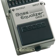 Boss GEB-7 Bass Equalizer - 7-band Graphic