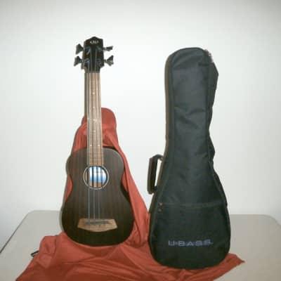Kala RMBL-FL Rumbler U-Bass Natural Fretless w/ U-Bass Gig Bag for sale