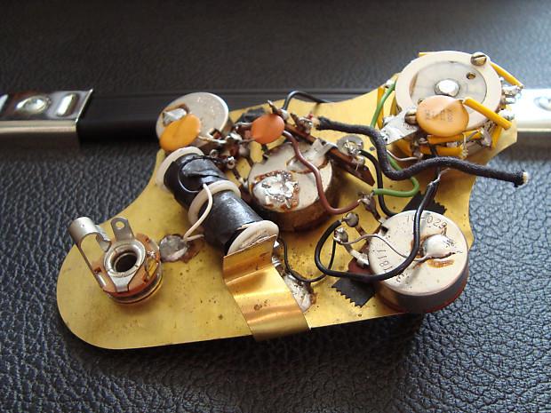 Strange Vintage Gibson Ripper Bass L6 S Midnight Special Electronics Reverb Wiring Cloud Intapioscosaoduqqnet