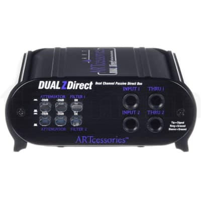 ART Dual ZDirect Passive Direct Box