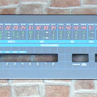 Korg Poly 61Analog Synthesizer front Panel Very Clean
