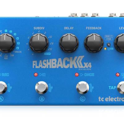 TC Electronic Flashback 2 x4 Delay & Looper pedal